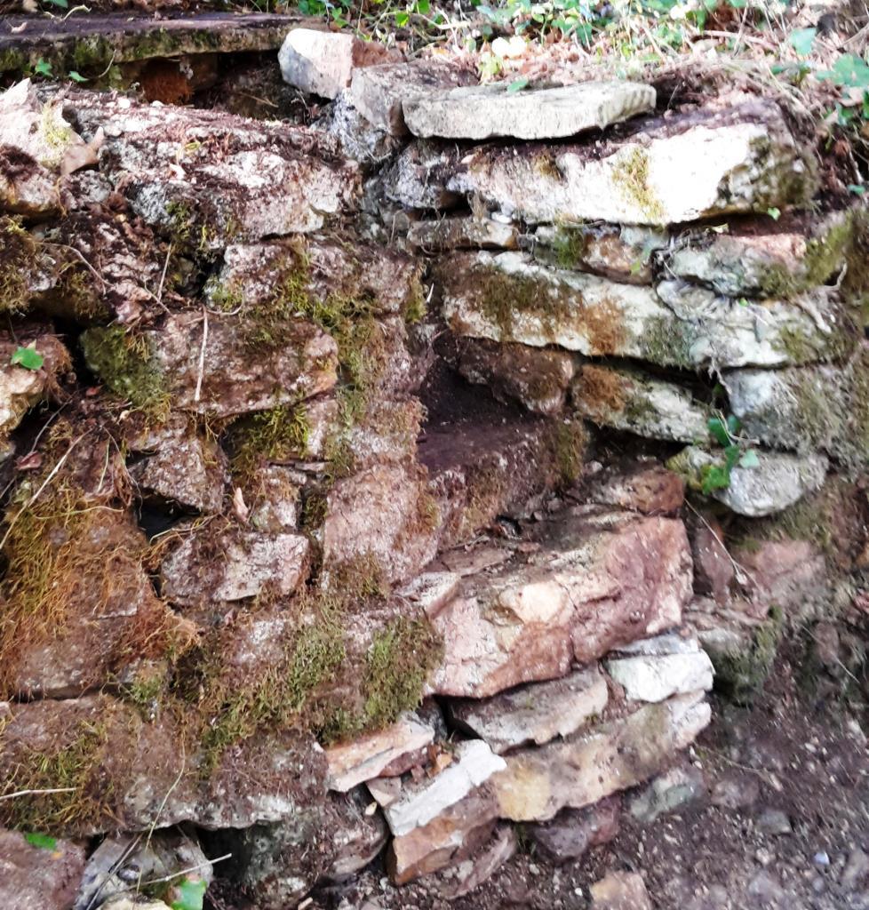 Magnifique escalier en pierre