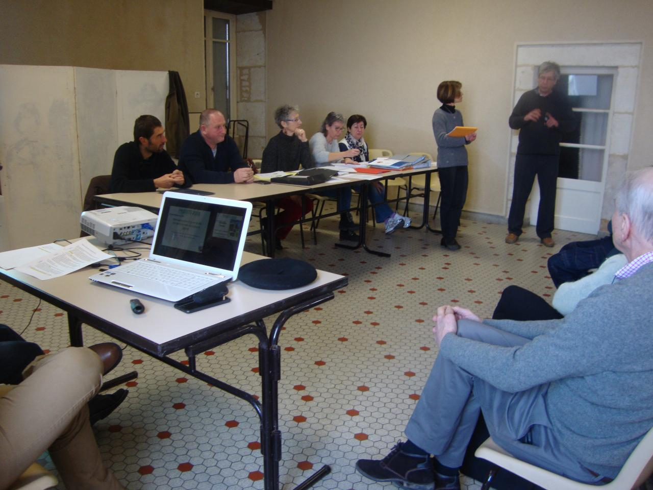 Présentation du projet d'un film sur St Symphorien avec l'AVQR