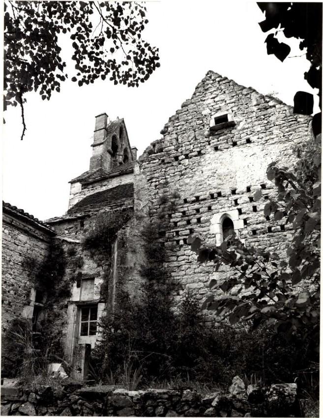 Mur-pignon de la Chapelle sud